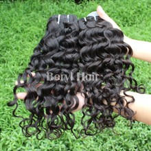 100 grams loose wave Free Sample 12-30 inch Can Be Dyed 100% Virgin Brazilian Hair