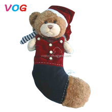Factory price china panda teddy bear christmas custom bear toy for children gift