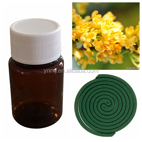 High quality fragrance Oil for Sweet- Scented Osmanthus mosquito repellent incense