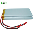 GEB Rechargeable high capacity battery lipo 8Ah 10Ah 12Ah cells