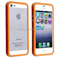 Mobile Phone Case For iPhone 5 5S Bumper Hard Case Cover Silicone Frame