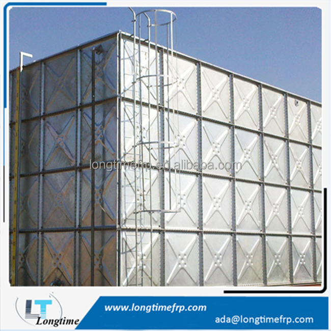Combined Sectional Galvanized Water Well Tanks 50m3 Water Tank