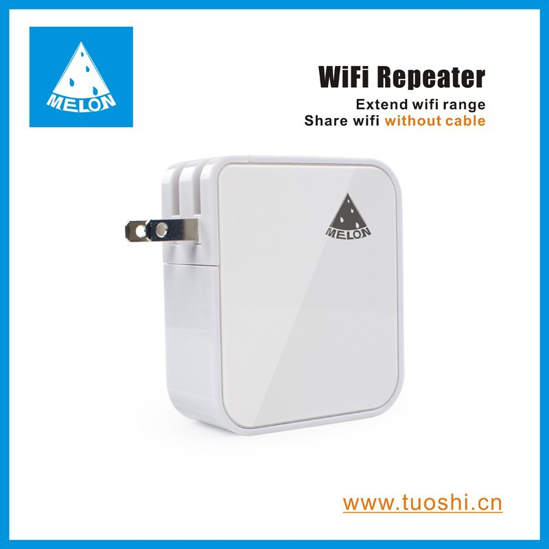 Travel WiFi repeater,150Mbps,two ethenert ports,extend wifi range