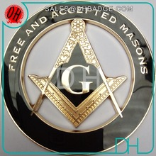 Kunshan DH Factory Supply Custom Luxury Masonic Car Emblem
