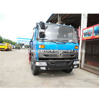 6 wheels Suction sewage tank truck for sale