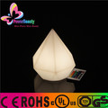 New fashion shape cordless led table lamp with color changing