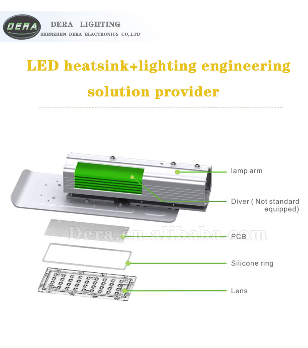 street lamp 40w led outdoor light Ip67 Bisu new arrival integrated road lamp led street light photoc