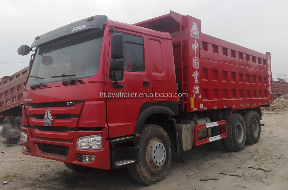 Overstock BEIBEN CAMC DONGFENG FAW HOWO SHACMAN NEW AND USED 6x4 Dump truck
