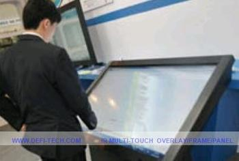 "PROMOTION!!top quality 10 real points 70"" infrared touch screen overlay"