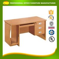 Custom Cheap Classical Office Wood Studying Desk With Drawer