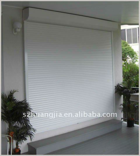 Remote control aluminum german roller shutters