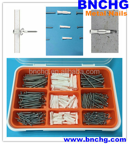 Made in China flat round head common nails Concrete Steel Nails manufacturer