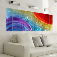 Modern Aluminum Painting Printed Aluminum Art Decoration Painting Wall Art