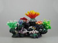 artificial seafloor real coral reef decor for aquarium tank