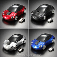 Hot Racing Car Shaped 2.4GHZ Wireless Optical Mouse/Mice USB 2.0 For PC Laptop