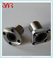 Brand New LMK8UU Linear Bearing Square Flange Type Straight Line Linear Bearings Steel Excellent Quality