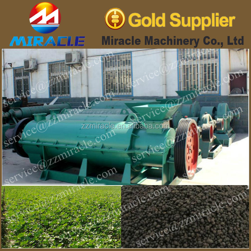 Compost Manure Waste Processing Organic Fertilizer Production Machine with Big Capacity and Good Quality