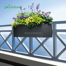 wed flower wicker basket long rectangle rattan self watering window hydroponic systems hanging plastic plant pots