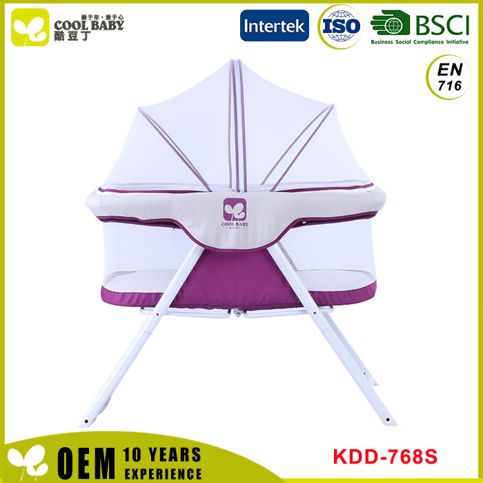 Factory new design European Standard Portable Baby Bassinet