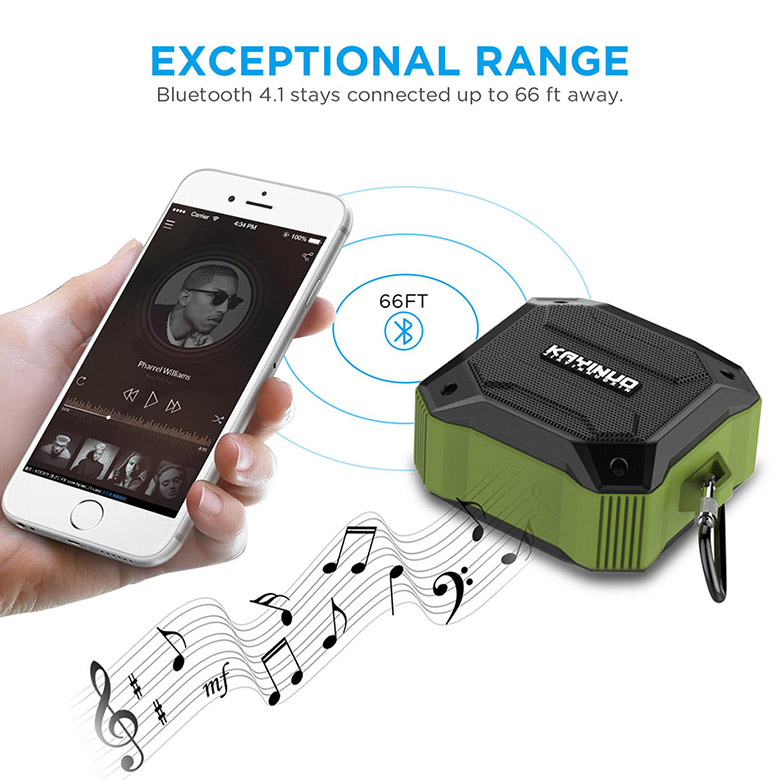 D520 Portable rohs mini <strong>bluetooth</strong> 4 inch tws speaker pc or mobile