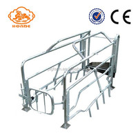 pig cage equipment sow stall durable hog farrowing crate