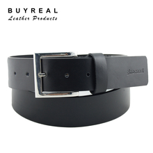 100% Genuine Leather Men's Leather Belt Casual Belt with Buckle