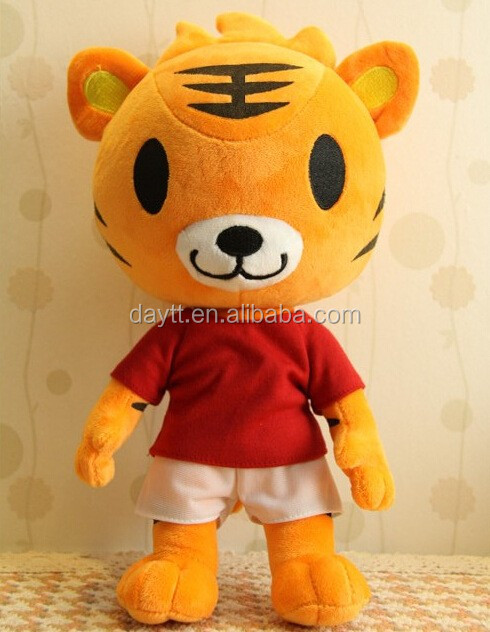 Evergrande Group Customize plush tiger toy/plush toy tiger/tiger soft toy/tiger plush/plush tiger