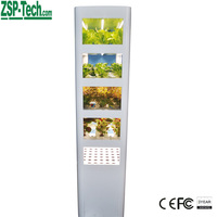 Efficient kitchen cabinet Plants growing Hydroponic System