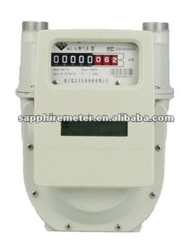 IWG2.5B Sapphire Diaphragm Wireless Remote Control Intelligent Household Gas Meter