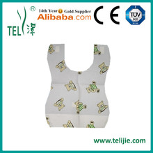 Wholesale Customized waterproof Disposable Cheap Baby Bibs