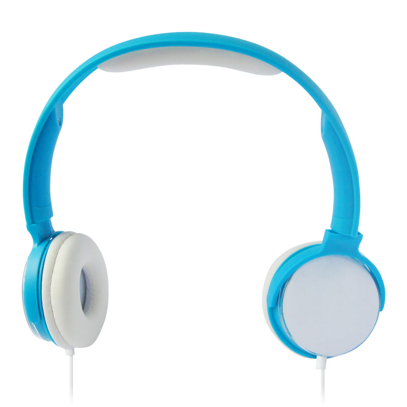 Computer fashion wired headphones with microphone