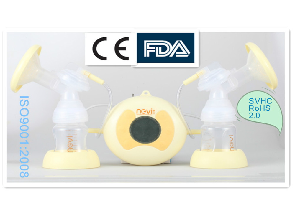 baby feeding products electric vacuum breast pump milk with baby feeding bottle