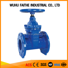 High Quality BS5163 Non-rising Stem Seated Gate Valves