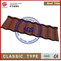 corrugated asphalt shingle roof tile/roofing materials