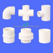 CPVC,UPVC,PP Plastic Pipe Fittings for Portable Water