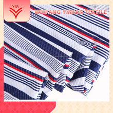 Free Samples Digital Polyester Stripe Printed Fabric