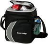 Single Shoulder Personalized 600D Logo Print Cooler Bag For Cans