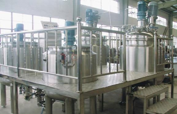 Top Quality Liquid Soap Dispenser, Liquid Detergent Mixer, Shampoo Manufacturing Plant