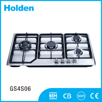 GS4S06 2017 good style and durable household gas stove