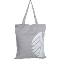 plain organic cotton handle style promotional shopping tote bag
