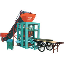 QTJ4-26 building concrete block making machine price / drawing block machine / interlocking block machine