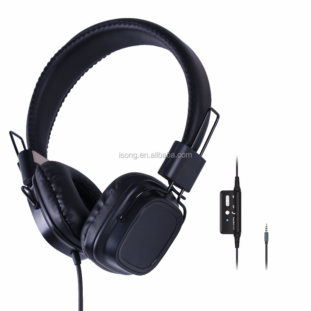 2017 Cheap Headband Wired ANR Active Noise Reduction Headphone Headset For Kids