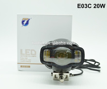 RTD E03C With USB Charger LED Headlight Foglight For Motorcycle