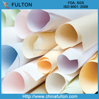 Hangzhou Fulton colored parchment paper/colored baking parchment cooking paper/greaseproof parchment paper