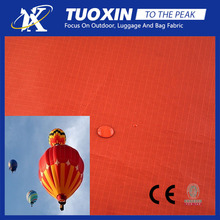 pu coated tear resistant ripstop nylon taffeta fabric for hot air balloon / parachute / paraglider / clothing