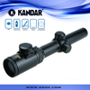 American popular selling optic rifle scope zoom 1.25-6x riflescopes hunting tactical