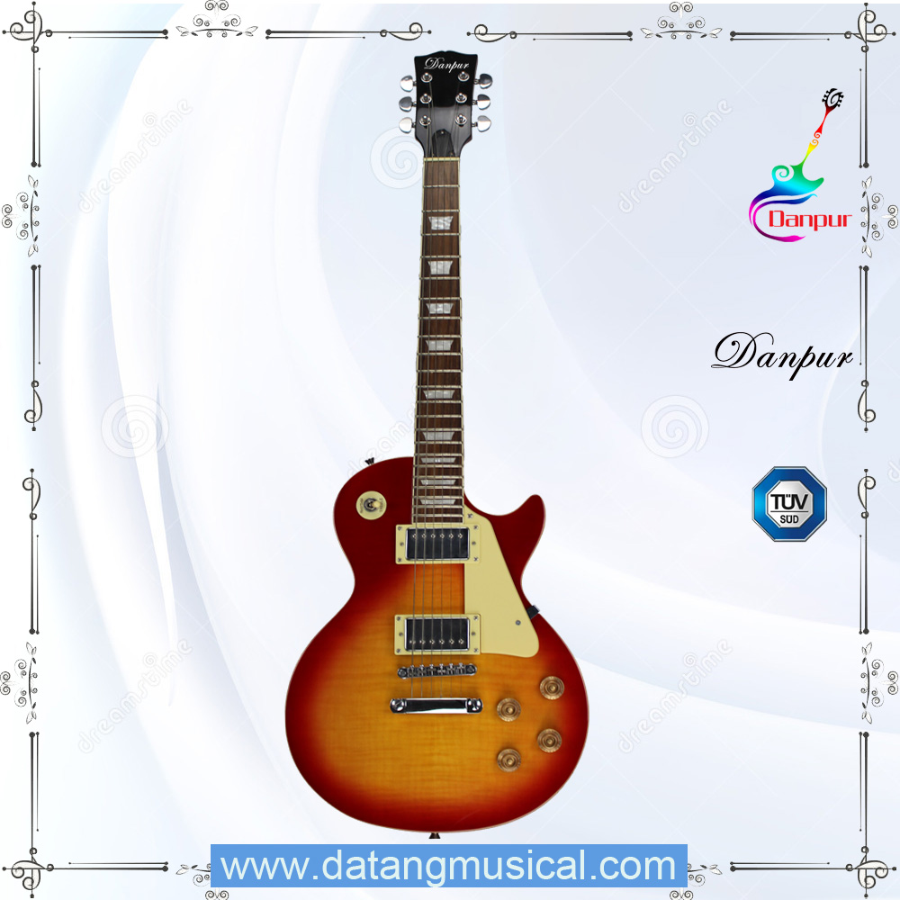 Custom Chinese musical instrument lp guitar for sale