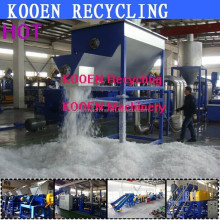 China hot selling pe pp plastic shopping bags recycling crushing washing drying line machine plant with CE