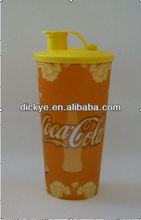 3D printing straw cup, plastic cup