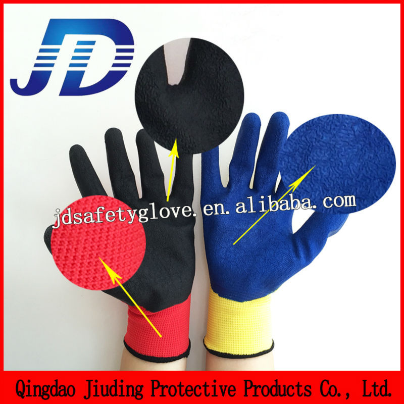 JD630 Best buy rubber construction safety glove